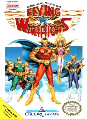 Flying Warriors Cover Art