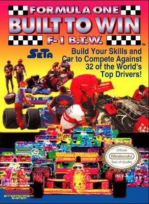 Formula One: Built to Win Cover Art