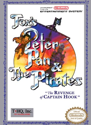 Fox's Peter Pan & The Pirates: The Revenge of Captain Hook Cover Art