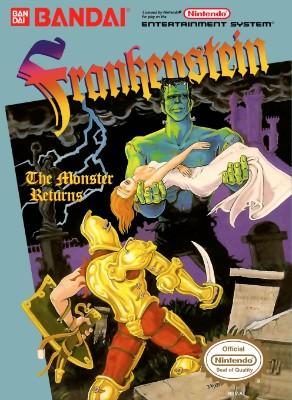 Frankenstein: The Monster Returns Cover Art