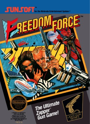 Freedom Force Cover Art