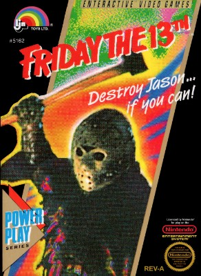 Friday the 13th Cover Art