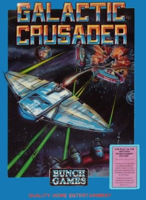 Galactic Crusader [Blue] Cover Art