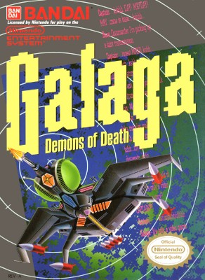 Galaga: Demons of Death Cover Art