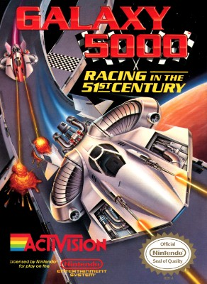 Galaxy 5000: Racing in the 51st Century Cover Art