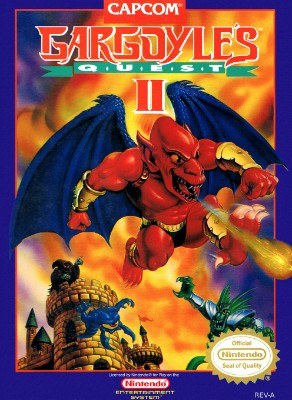 Gargoyle's Quest II Cover Art