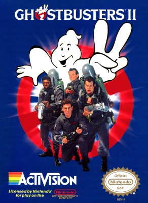 Ghostbusters II Cover Art