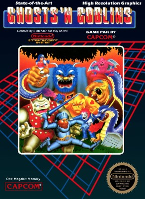 Ghosts 'n Goblins Cover Art