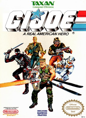 G.I. Joe: A Real American Hero Cover Art