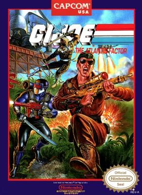 G.I. Joe: The Atlantis Factor Cover Art