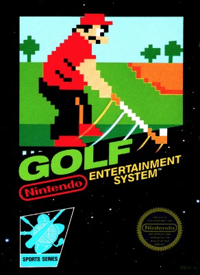 Golf Cover Art