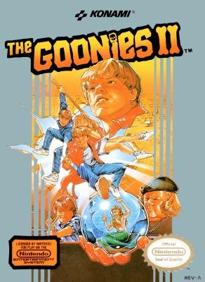 Goonies II Cover Art