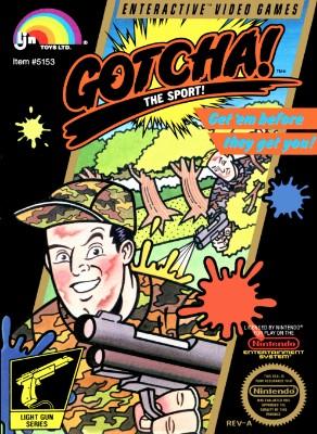 Gotcha! The Sport! Cover Art