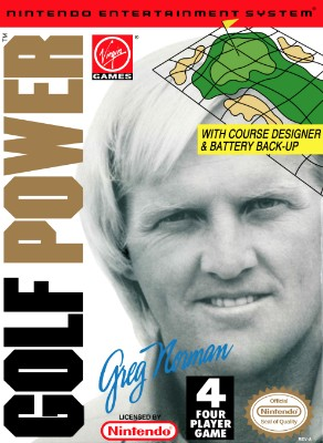 Greg Norman's Golf Power Cover Art
