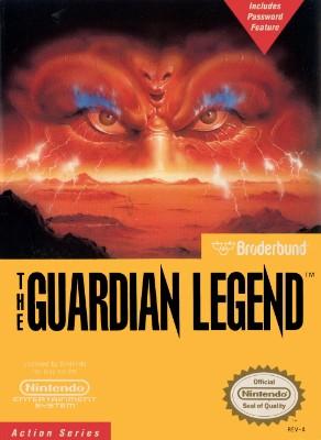 Guardian Legend Cover Art