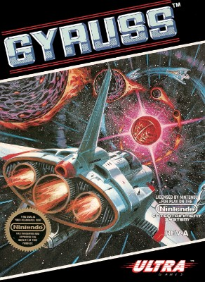 Gyruss Cover Art