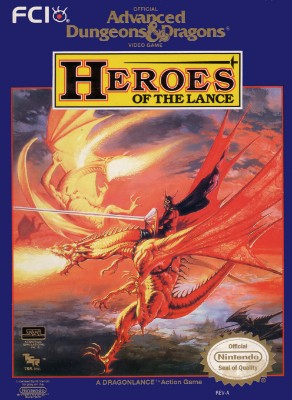 Advanced Dungeons & Dragons: Heroes of the Lance Cover Art