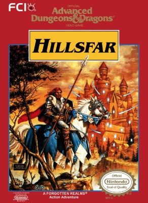 Advanced Dungeons & Dragons: Hillsfar Cover Art