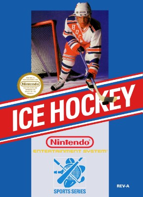 Ice Hockey Cover Art