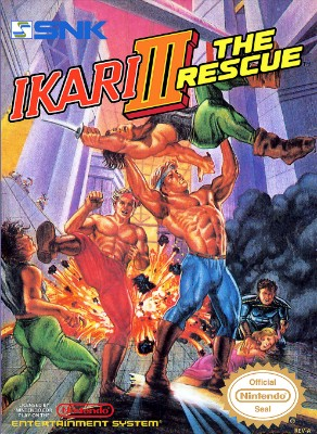 Ikari III: The Rescue Cover Art