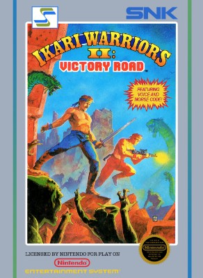 Ikari Warriors II: Victory Road Cover Art
