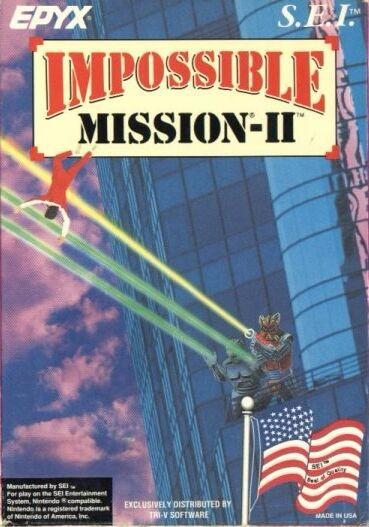 Impossible Mission II [SEI] Cover Art