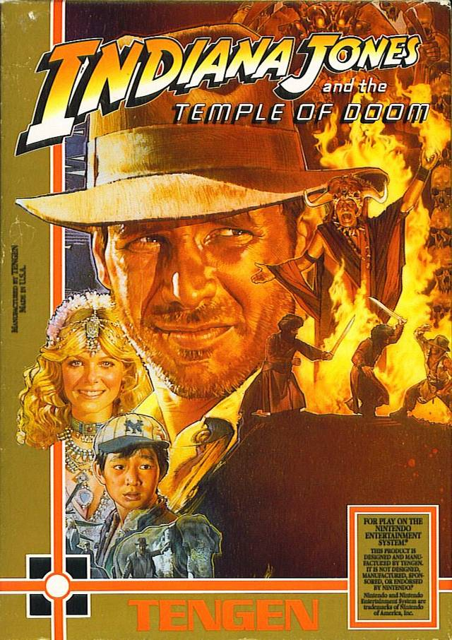 Indiana Jones and the Temple of Doom [Unlicensed] Cover Art