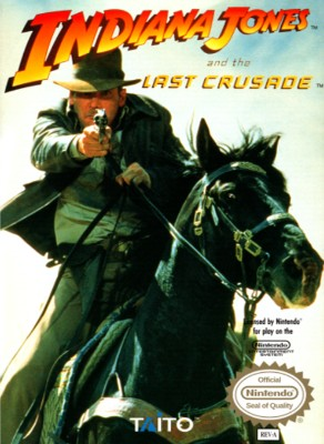 Indiana Jones and the Last Crusade [Taito] Cover Art