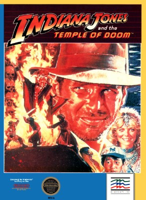 Indiana Jones and the Temple of Doom Cover Art
