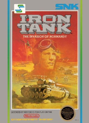Iron Tank: The Invasion of Normandy Cover Art