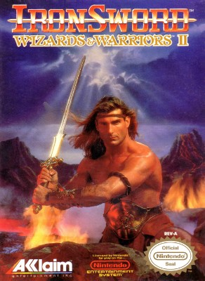 Ironsword: Wizards & Warriors II Cover Art