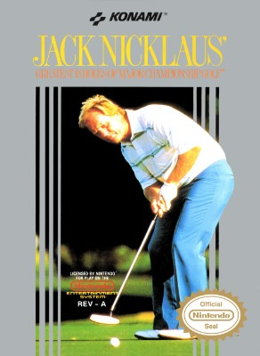 Jack Nicklaus' Greatest 18 Holes of Major Championship Golf Cover Art