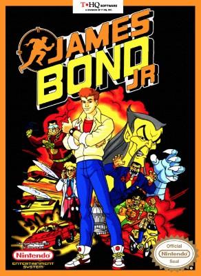 James Bond Jr. Cover Art