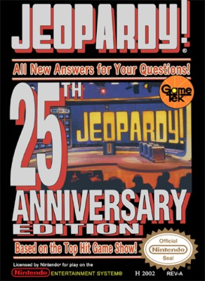 Jeopardy! 25th Anniversary Edition Cover Art