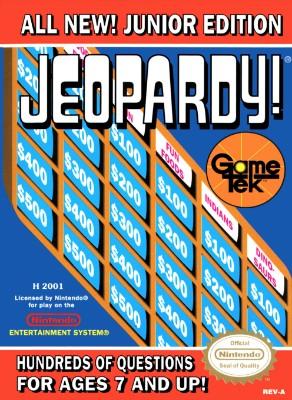 Jeopardy! Jr. Edition Cover Art