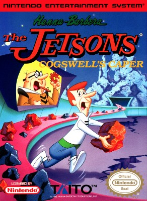 Jetsons: Cogswell's Caper Cover Art