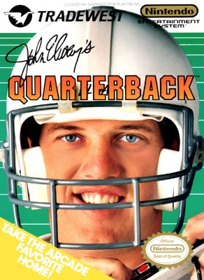 John Elway's Quarterback Cover Art