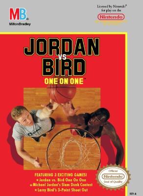 Jordan vs. Bird: One on One Cover Art