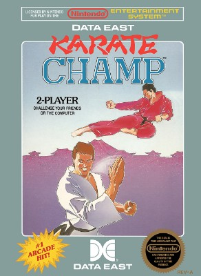 Karate Champ Cover Art