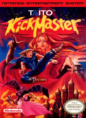 Kickmaster Cover Art