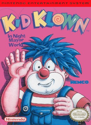 Kid Klown in Night Mayor World Cover Art
