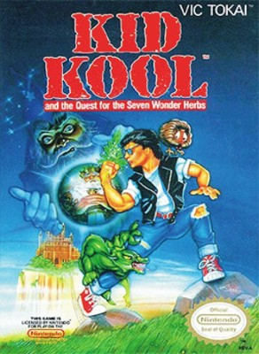 Kid Kool and the Quest for the Seven Wonder Herbs Cover Art
