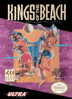 Kings of the Beach: Professional Beach Volleyball Cover Art