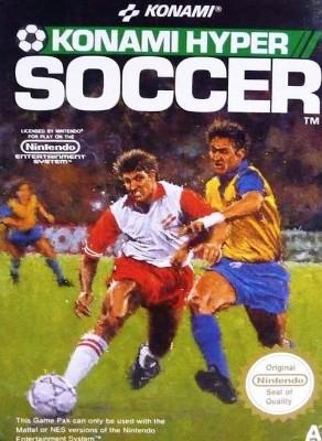 Konami Hyper Soccer [PAL] Cover Art