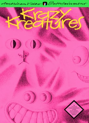 Krazy Kreatures Cover Art