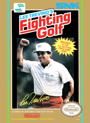Lee Trevino's Fighting Golf Cover Art