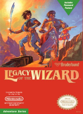 Legacy of the Wizard Cover Art