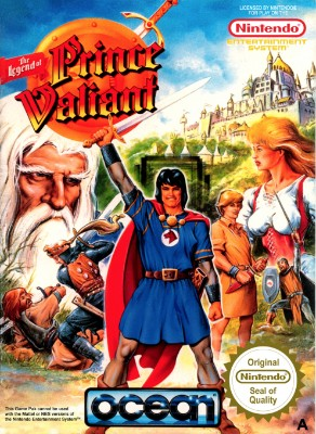 Legend of Prince Valiant [PAL] Cover Art