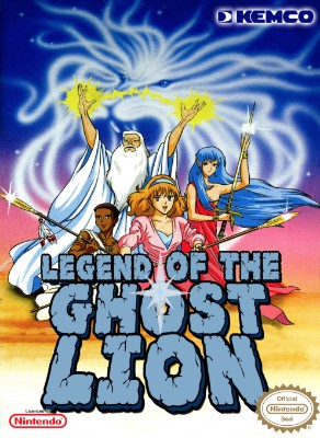 Ghost Lion, Legend of Cover Art