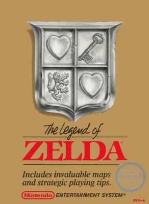 Legend of Zelda Cover Art